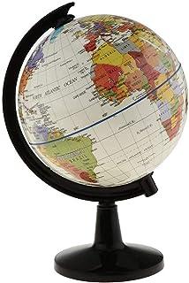 Globe 1pc Desktop Sphere Globe World Globe Model World Map for Home Office Geography Teaching Decor Students Teaching Aids...