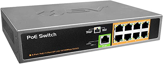 8 port poe switch with uplink