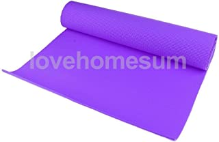 Yoga Mat Fitness Exercise Pad Yoga Blanket Accessories for Outdoor Sports Purple