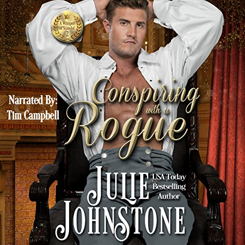 Conspiring with a Rogue Audiobook By Julie Johnstone cover art
