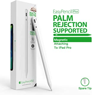 Stylus Pen for iPad, Switcheasy EasyPencil Plus with Palm Rejection and Magnetic Function, Compatible with (2018-2020) iPad Pro 11 & 12.9 inch/iPad 7th Gen/iPad 6th Gen/iPad Air 3rd Gen