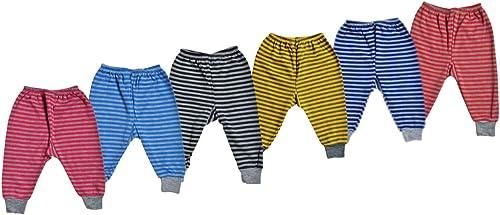 Mahi Fashion Baby Pajama for Girls and Boys (Pack of 6, Multi Color)