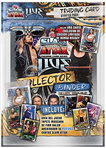 Slam Attax WWE Live 2018 Starter Pack