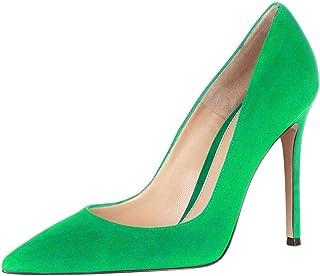 EDEFS - Scarpe con Tacco Donna - High Heels - Tacco a Spillo 10cm - Scarpe Punta Chiusa Donna