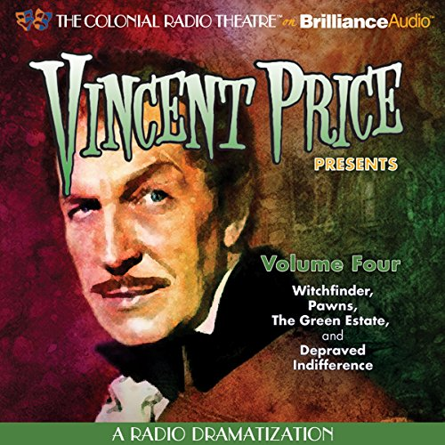 Vincent Price Presents, Volume Four cover art