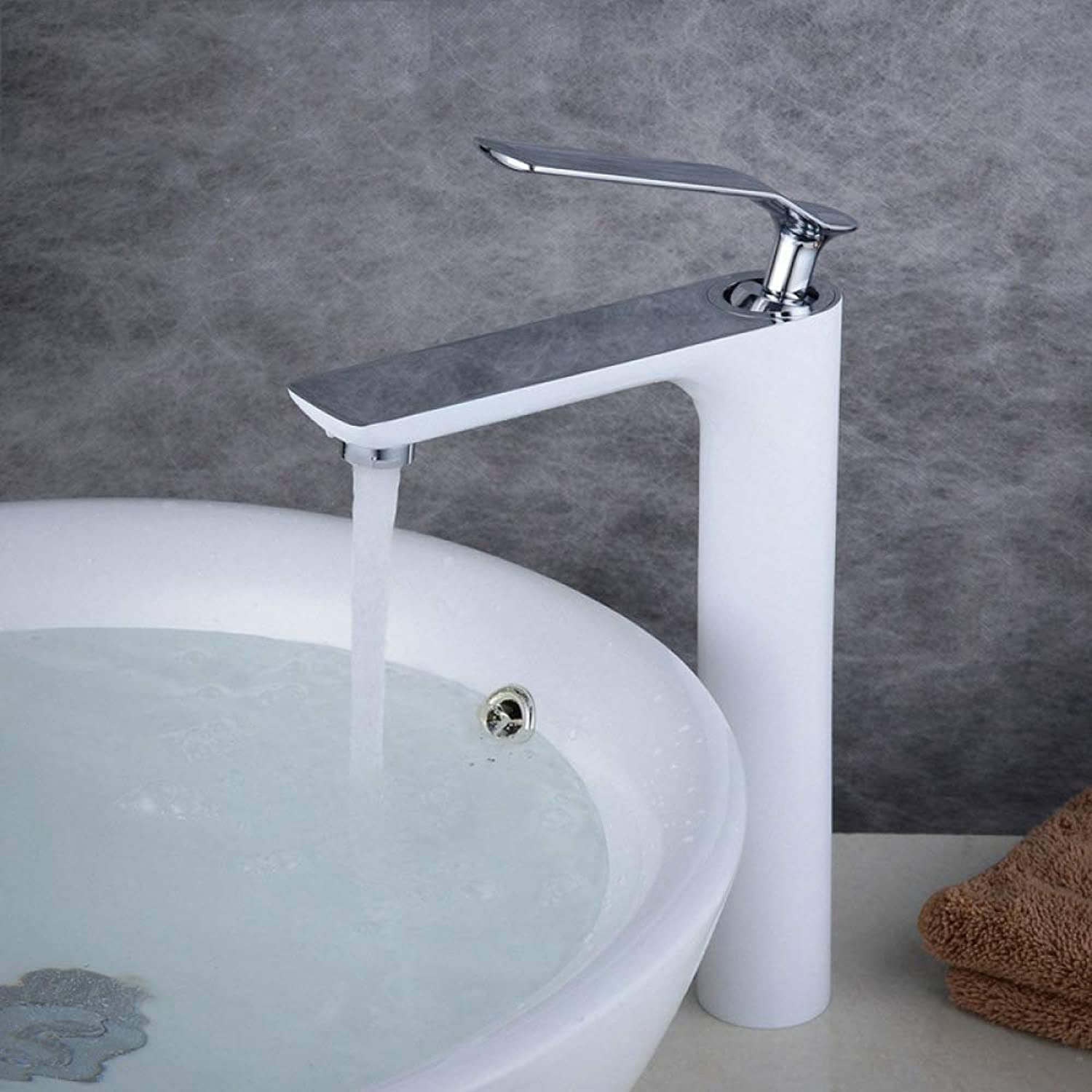 PZXY Faucet All Copper Water-Saving Basin Faucet Basin hot and Cold Mixed Water Faucet Lifting Type Faucet 112  46  108  98mm