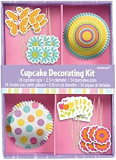 Rimi Hanger Kids Fancy Cupcake Decorating Kit Childrens Fancy Birthday Party Accessories One Size