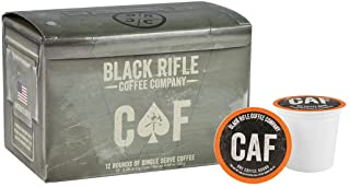 Black Rifle Coffee Company Caffeinated as [REDACTED] Medium Roast Coffee Rounds | 12..