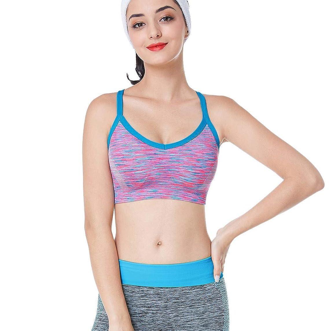 FANORAD Bras for Women, Yoga Bras Tank Tops, Seamless, Woman Sleeveless Sports Tops Sexy Sportswear Vest