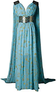 Best daenerys blue and gold dress Reviews