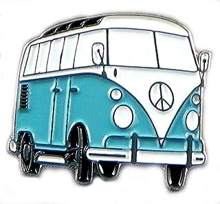 Mainly Metal ™ - Spilla smaltata per camper e furgoni Continent Tourer (25 mm)