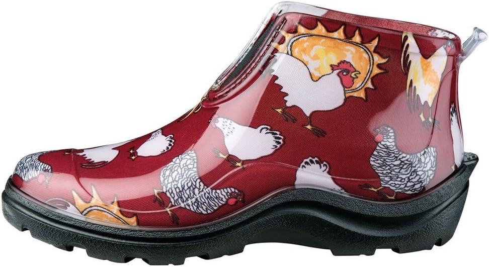 Sloggers Chaussures de Pluie et de Jardin imperm/éables pour Femme avec Semelle int/érieure Confortable