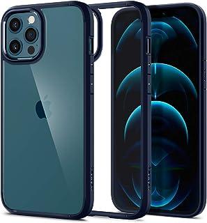 Spigen Ultra Hybrid designed for iPhone 12 Pro MAX case cover - Navy Blue