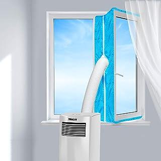 Aozzy AirLock 100 - Aislamiento de Ventanas para aparatos de Aire Acondicionado móviles y secadores de Aire Acondicionado (400 cm), Color Azul