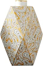 DPWH Elegant Vase Vases, Creative Vases, Ceramic Vases, Minimalist Style Home Office Decorative Vases. (Color : Yellow, Size : L)