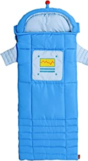Instantly Inspired Kids Blue Sparky The Robot Sleeping Bag with Carrying Bag by Ozark Trail