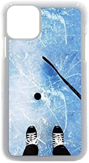 Fine Kid Print Hockey 5 Use As Iphon 12 Pro MAX 6.7 Inch Apple Shell Abs Choose Design 154-3