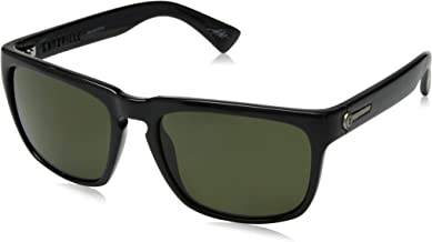 Electric California Knoxville Polarized Wayfarer Sunglasses, Gloss Black, 164 mm