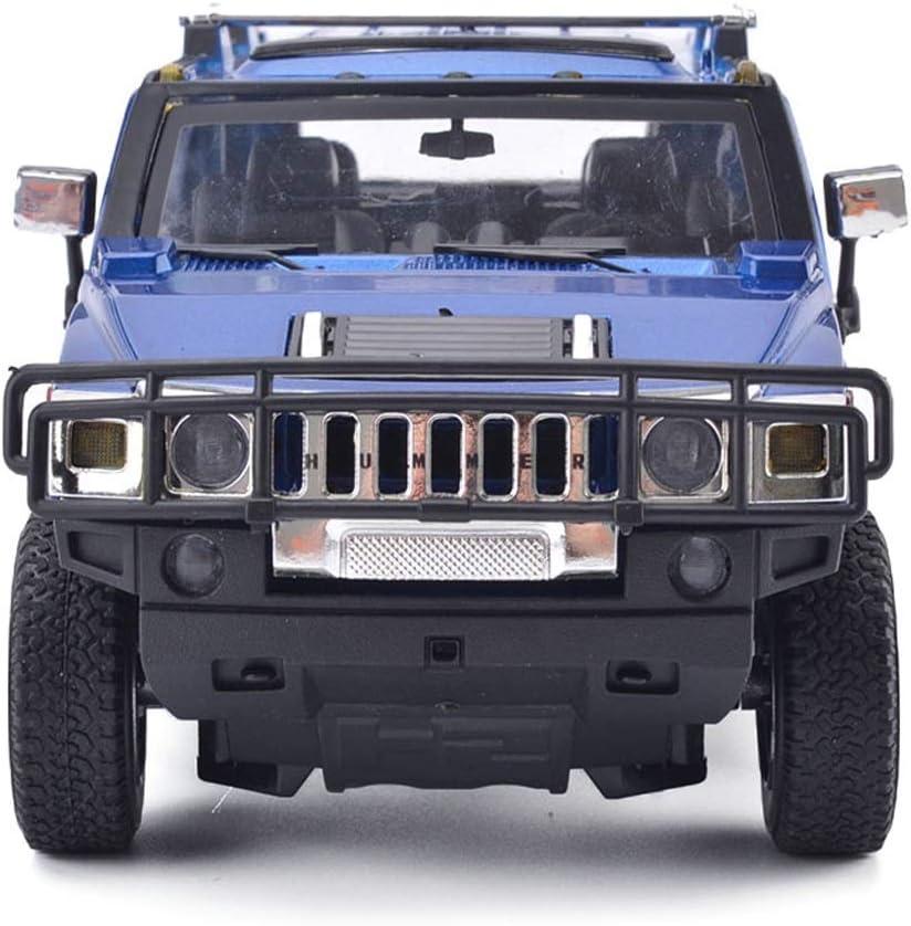 Color : Armygreen NYDZDM Modelo de Coche 1:24 Hummer H2 simulaci/ón aleaci/ón Modelo de Juguete de fundici/ón a presi/ón joyer/ía de colecci/ón de autom/óviles