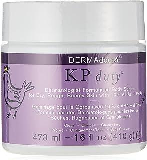 DERMAdoctor KP Duty Dermatologist Formulated Body Scrub, 473 ml