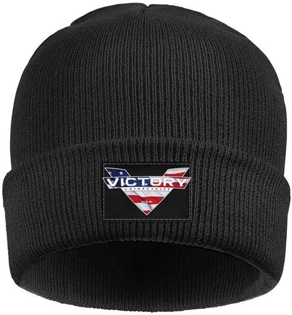 Max 47% OFF Ranking TOP1 Men Women's Black Beanie Victory-Motorcycle-USA-American-Fla Hat