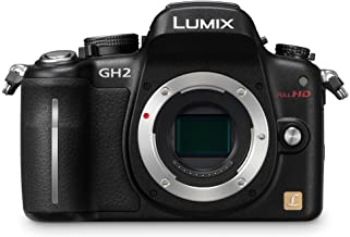 Panasonic Lumix DMC-GH2 16.05 MP Live MOS Mirrorless Digital Camera with 3-Inch Free-Angle Touch Screen LCD [Body Only] (B...