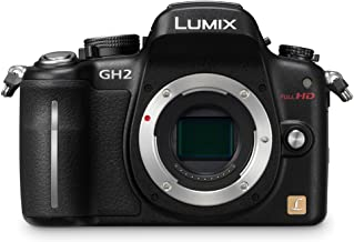 Panasonic Lumix DMC-GH2 16.05 MP Live MOS Mirrorless Digital Camera with 3-Inch Free-Angle Touch Screen LCD [Body Only] (Black) (Discontinued by Manufacturer)