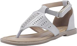Cleo by Khadim's Women White Casual Flat Sandal
