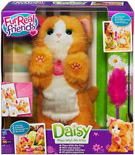 FurReal Friends – Peluche interactive Daisy, Mon Chat Joueur – Version française