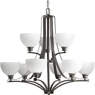 Best brushed nickel chandelier lighting Reviews