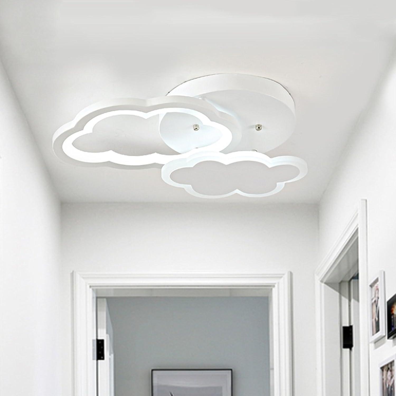 Wolken Form Wei LED Deckenleuchte Kinderzimmer Schlafzimmer Cartoon Lichtschutz Augen