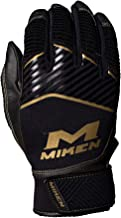 Miken Adult Softball Batting Gloves: MBGGLD