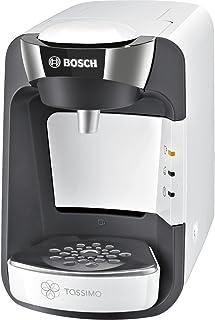 Bosch TAS3204 Tassimo Suny, Cafetera de Cápsulas Multibebida con Sistema SmartStart, Color Blanco