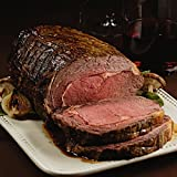 Pre-Seasoned Garlic and Herb Prime Rib Roast, 2 count, 4-4.5 lb each from Kansas City Steaks