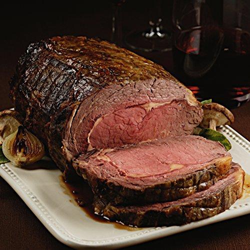 Pre-Seasoned Garlic and Herb Rub Prime Rib Roast, 1 count, 3.5-4 lb from Kansas City Steaks