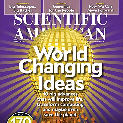 Scientific American, December 2015 audiobook cover art