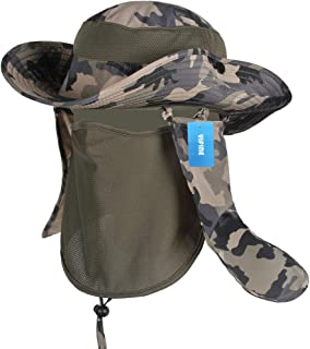 916c44c465a Amazon.com  OUTDOOR CAP BOONIE HAT WITH FACE MASK