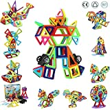 Innoo Tech - Bloque de construcción magnética para niños, 108 piezas, mini juegos de construcción magnética, juguete educativo y creativo, regalo de cumpleaños o fiesta para los pequeños