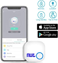 Key Finder with App for Phones- Evershop Smart Tracker Bluetooth Item Finder Car Key GPS Locator Alarm Reminder for Phone, Pets, Keychain, Wallet,Luggage