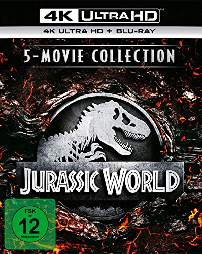 Jurassic World - 5-Movie Collection (4K Ultra HD) (5 BR4Ks + 5 BRs) [Alemania] [Blu-ray]