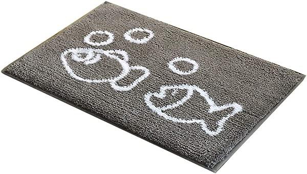 浴垫儿童洗澡地毯浴垫地毯浴室卧室地毯门垫门口进门极速脚垫可机洗防滑垫防滑稳定厕所吸水 WC WEIYV