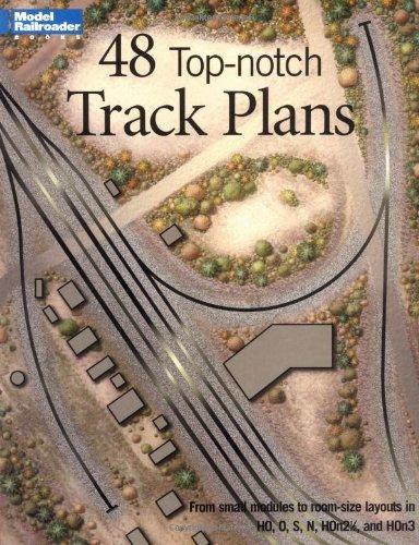 Hayden, B: 48 Top-Notch Track Plans (Model Railroad Handbook)