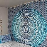 Glitter Fas Mandala – Tapiz de pared para dormitorio