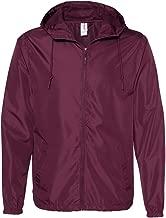 Independent Trading Co.............. EXP54LWZ Light Weight Windbreaker Zip Jacket