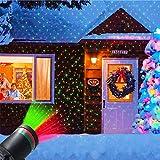 Proyector de Navidad, Cielo Estrellado Proyector Led Para Exteriores Proyector de Paisaje Proyector de Jardín Al Aire Libre, Luz de Jardín Luz de Halloween Lmpermeable Al Aire Libre (enchufe Europeo)