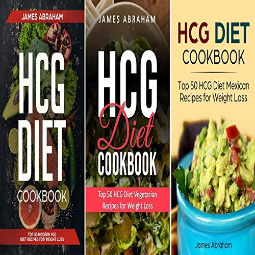 HCG Diet Cookbook: 3 Books in 1 audiobook cover art