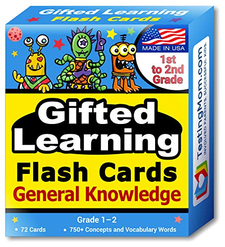 TestingMom.com Gifted Learning Flash Cards – General...