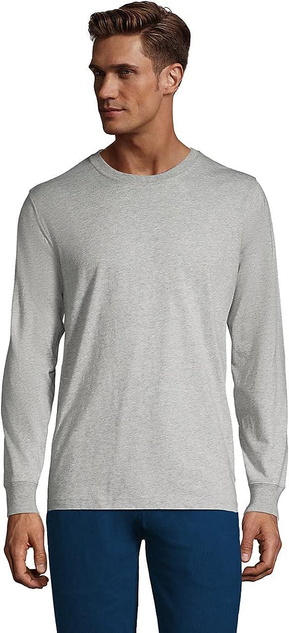 Lands' End Men's Super-T Long Sleeve T-Shirt
