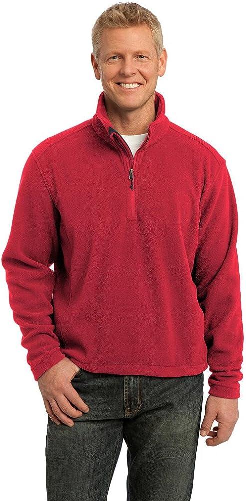 Port Authority Big Mens Value Fleece 1/4-Zip Pullover