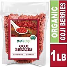 Healthworks Raw Goji Berries (16 Ounces / 1 Pound) | Certified Organic & Sun-Dried |..